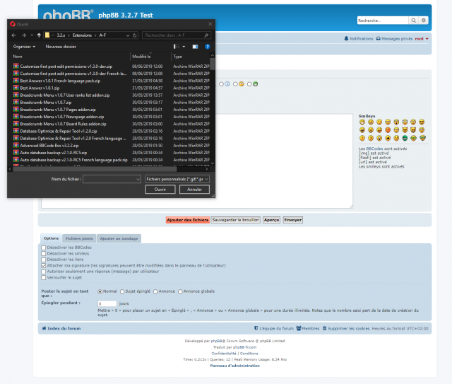 phpBB - Extension - Move Add files button - Page de l'éditeur complet - Sélection de fichiers.png