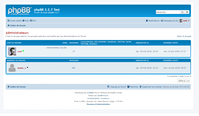 phpBB - Extension - Member Avatar & Status - Page d'un groupe.png