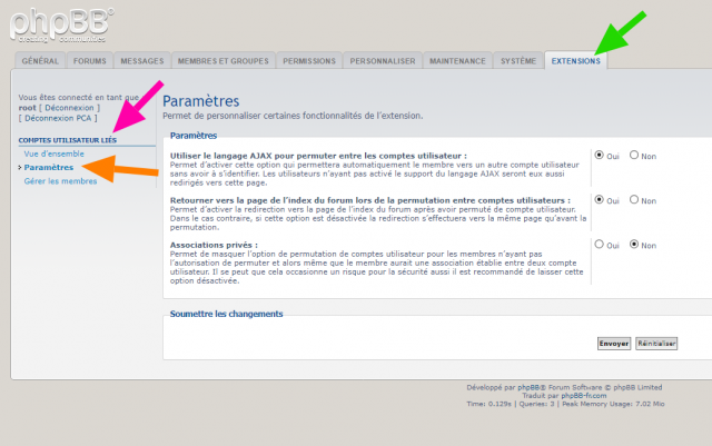 phpBB - Extension - Linked Accounts - Paramètres.png
